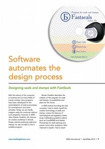 Статья о программе Быстропечати в журнале Marking Industry.