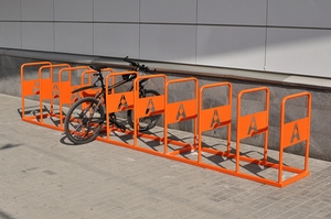 Мы изготовили велопарковку для Астор Плаза