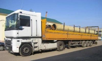 А, следовательно, доставка труб всевозможных предназначений на строительные объекты является актуальной задачей.