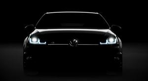 Volkswagen опубликовал тизер нового Golf R