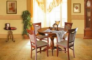 Обеденные группы для семейного обеда и приема гостей