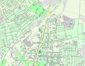 Карта щекино