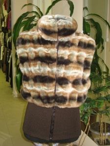 Шубы и жилетки из меха