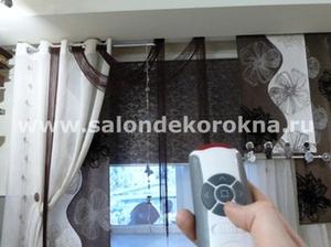 """Автоматические рулонные шторы от """"Декора окна"""": по доступной цене в Вологде"""
