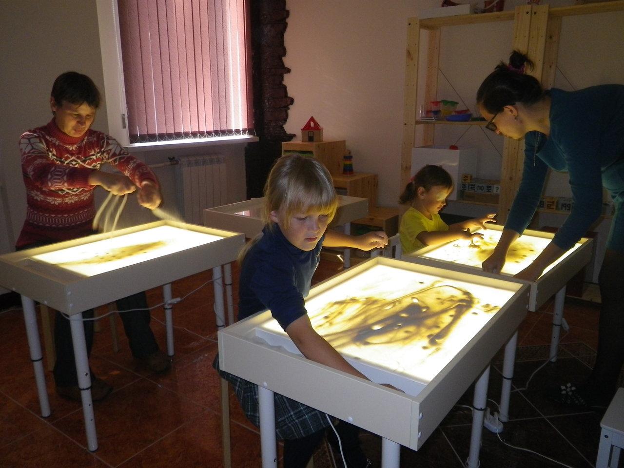 Светящийся стол для детей своими руками