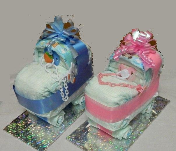 Подарки к рождению ребенка своими руками