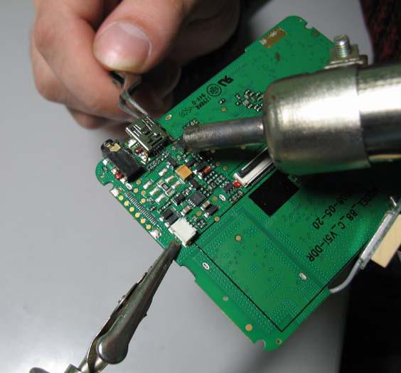 Ремонт гнезда зарядки телефона своими руками