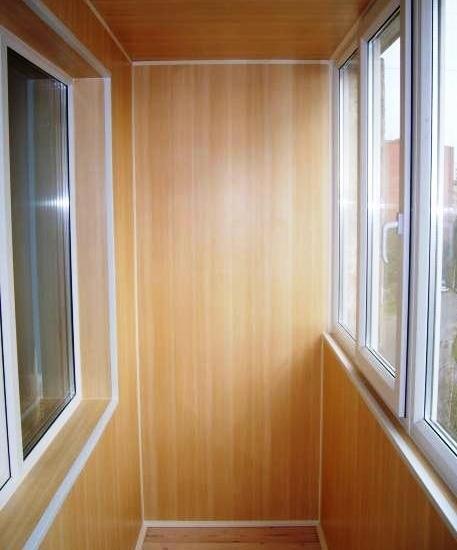 Внутренняя отделка балконов, лоджий - строительство и ремонт.