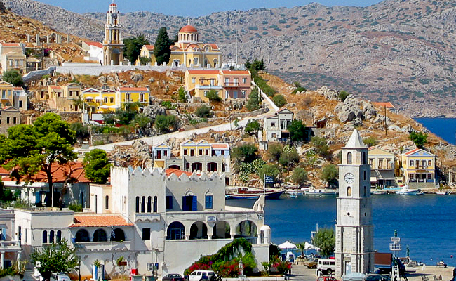 курорты греции родос