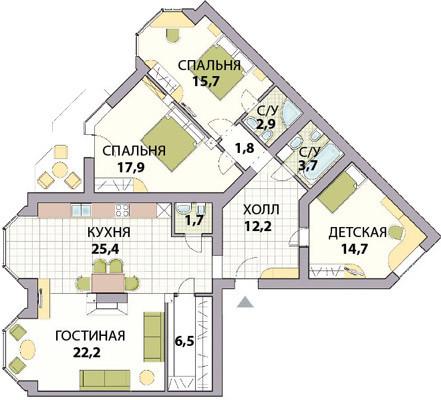 Купить 4 комнатную квартиру