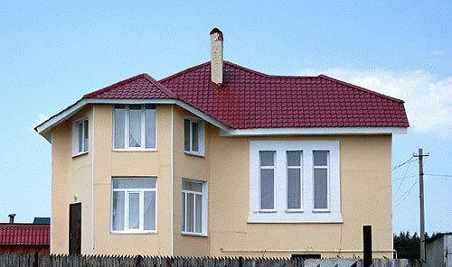 дом из газобетона бетолекс