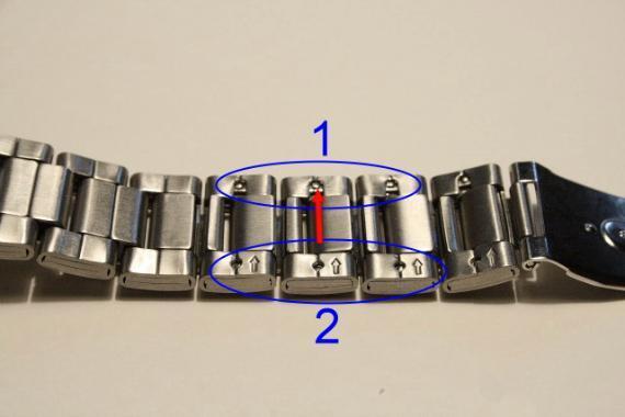 Как самостоятельно укоротить браслет часов