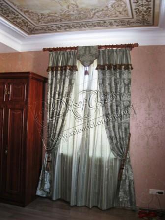 карнизы и шторы