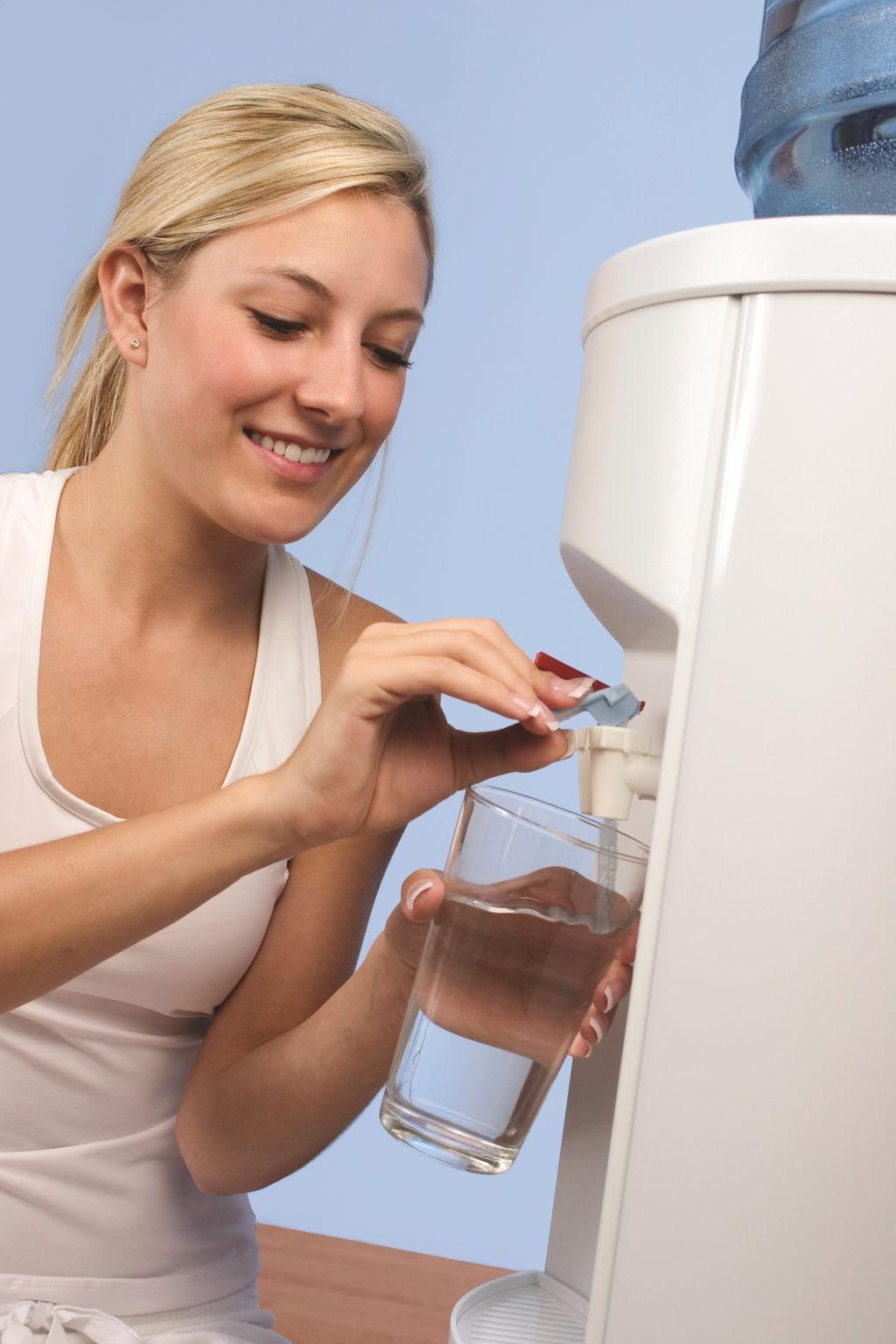 Как сделать чистку кулера для воды