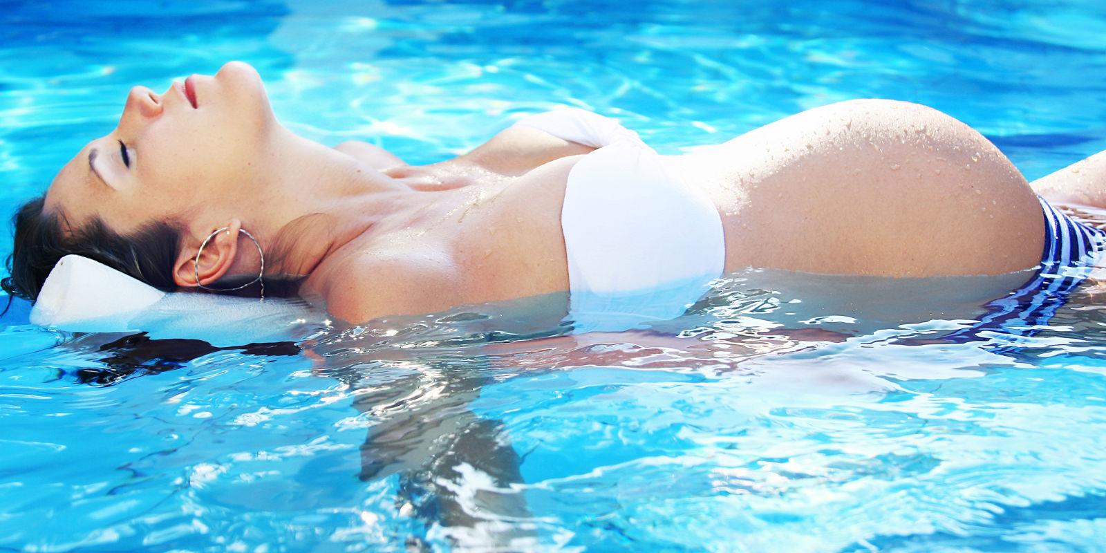 Вред плавания для беременных 43