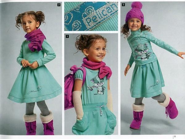 летние детские платья спицами