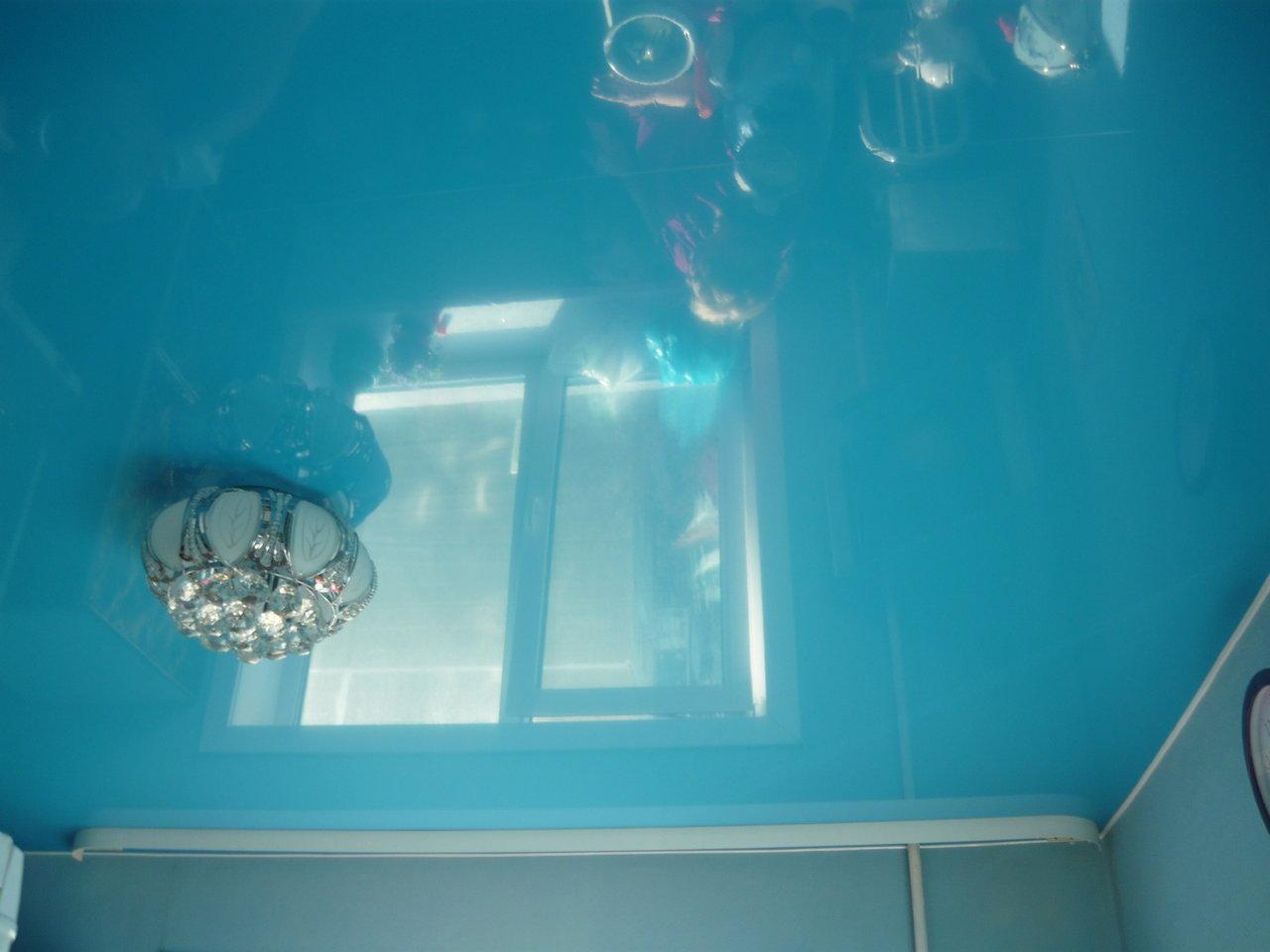 Как сделать глянцевый потолок краской