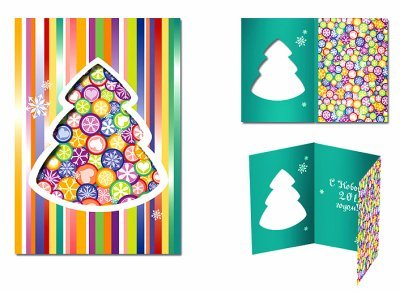 заказать новогодние открытки в туле