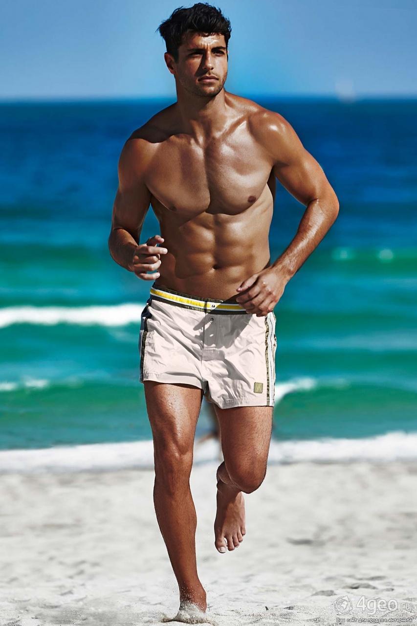 Фото парень на пляж