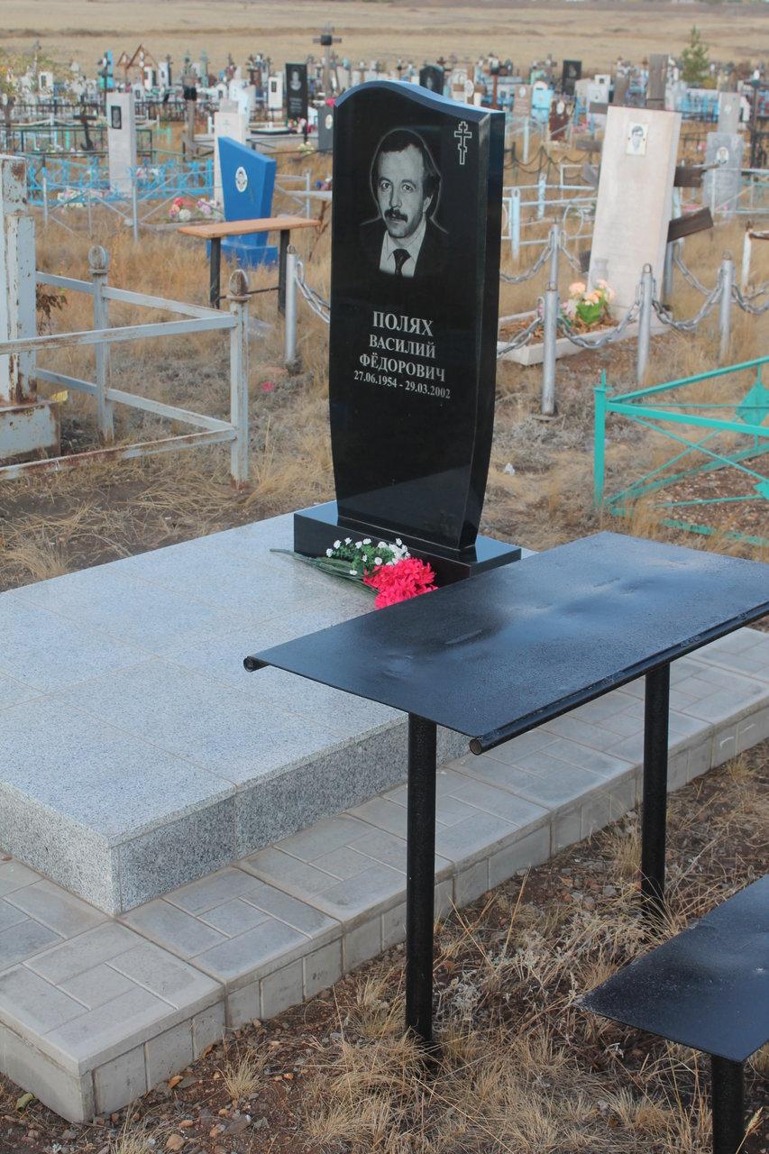 Купить памятник на кладбище Сибай Эконом памятник Арка Соликамск