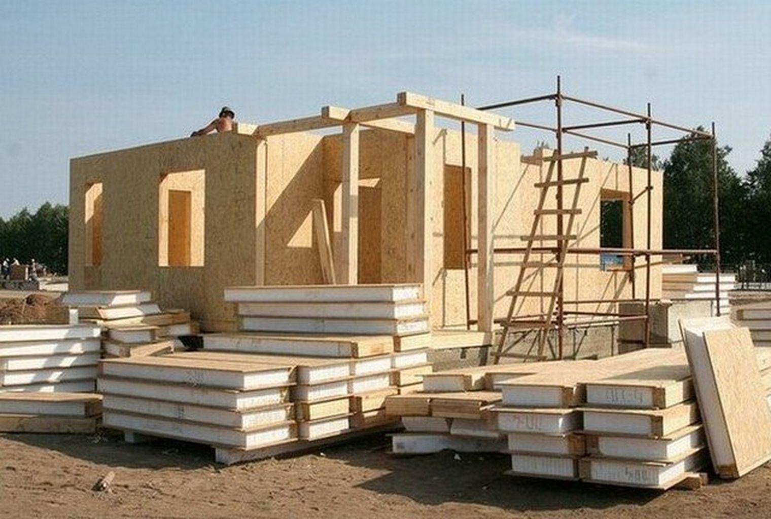 Сип панель строительство дома своими руками от и до