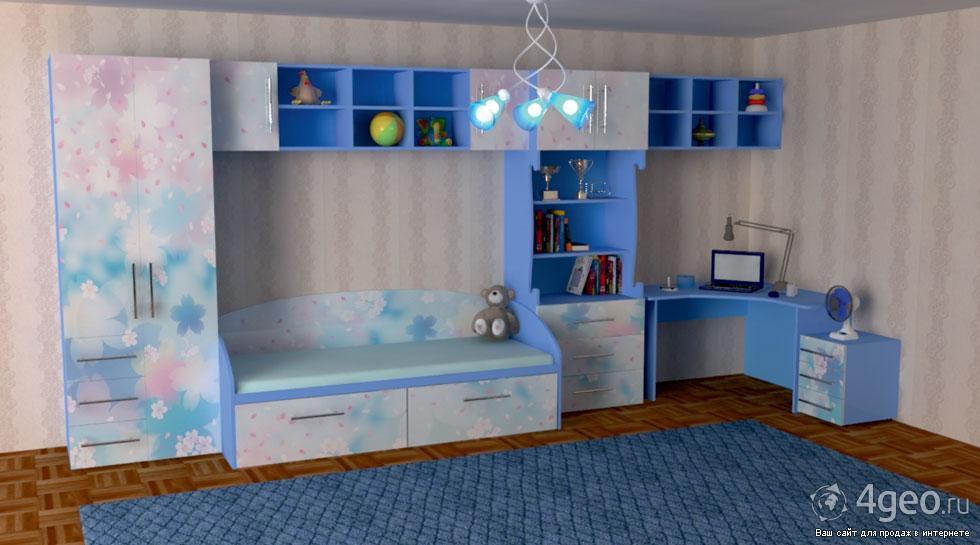 Детская спальня фото мебель