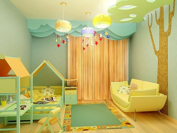 Оригинальные люстры для детской комнаты
