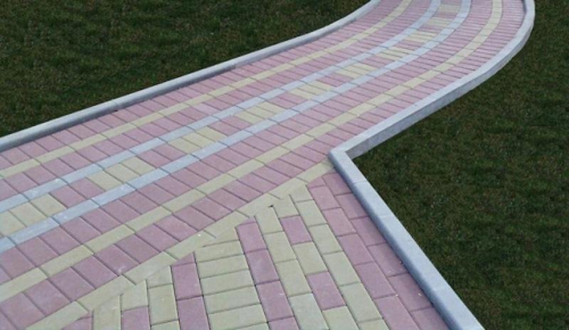Дорожки из плитки на даче фото