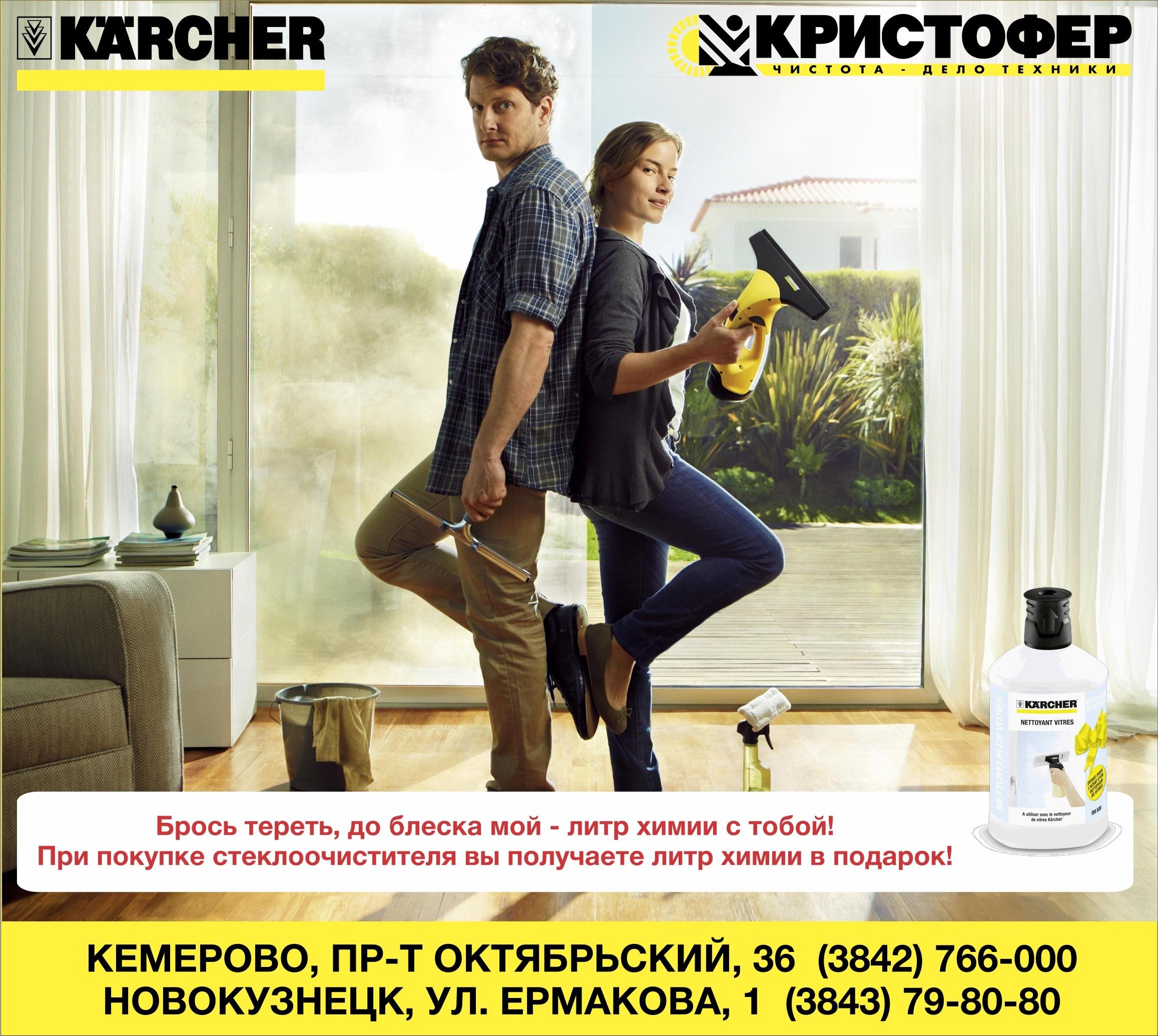 Купить Мойщик окон Karcher в Кемерово