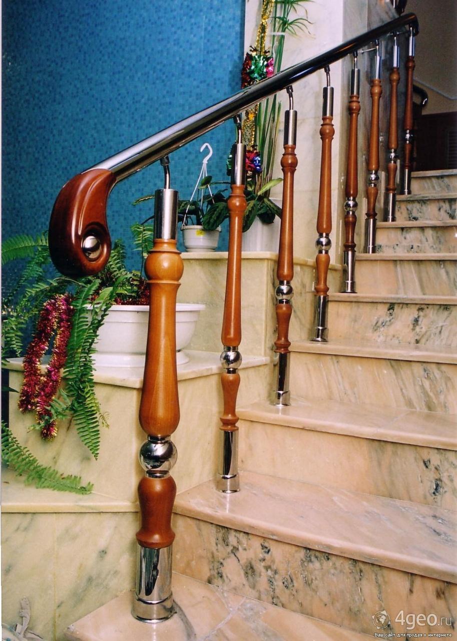 Перила и ограждения лестниц