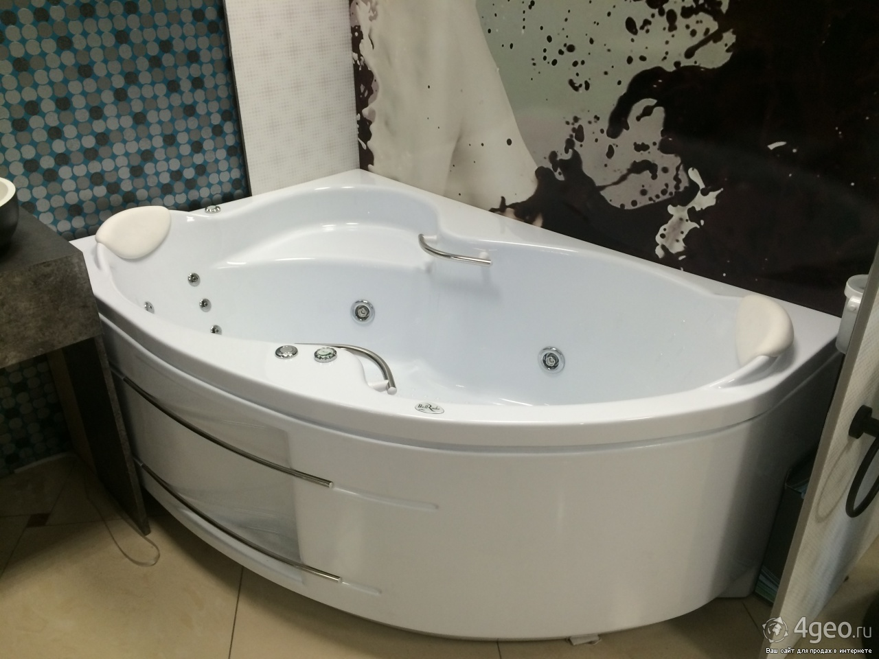 Ванна индиго в интерьере фото