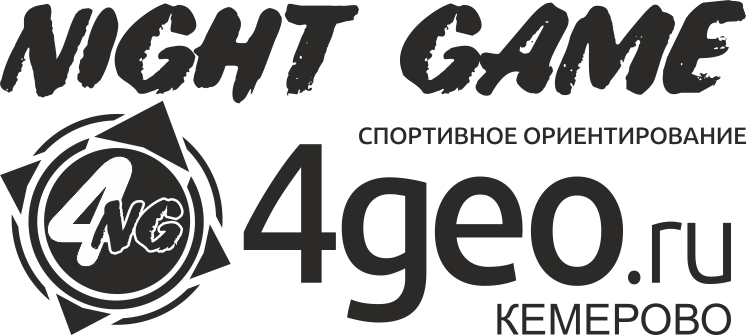 Логотип Night Game 4geo