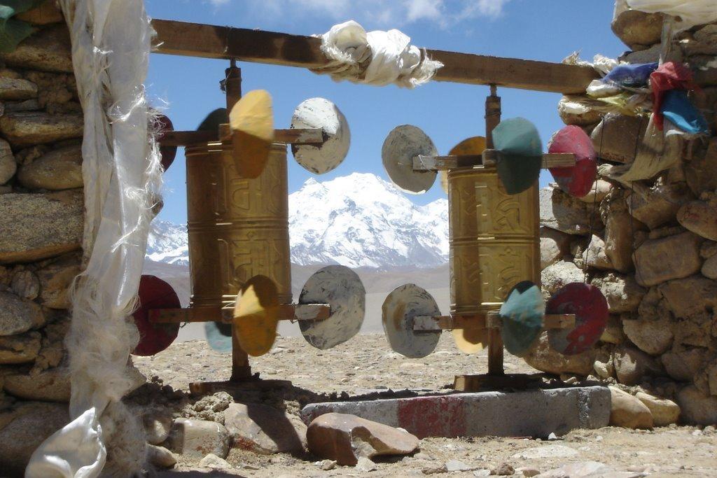На перевале Тибета