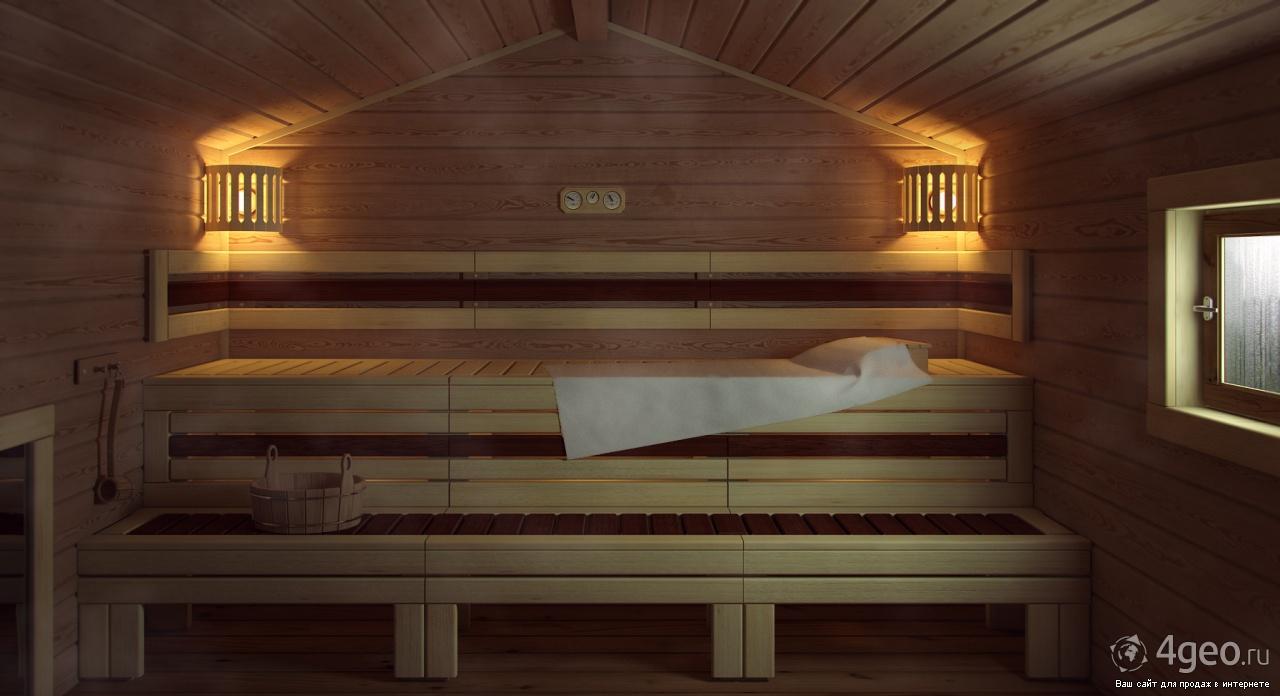 Дизайн маленькой бани внутри