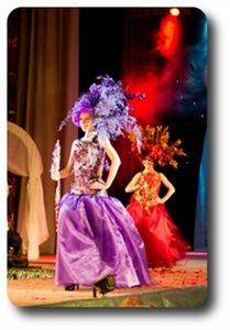 """Флористический показ на фестивале """"Мир моды и фантазии"""" [фото-отчет]"""
