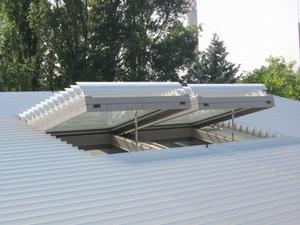 Солнцезащитная система для стеклянных крыш
