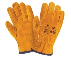 Спилковые перчатки, краги сварщика, перчатки из кожи