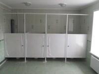 Изготовлены и установлены сантехнические кабинки