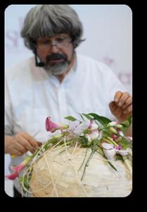 Фото с семинара флориста-легенды Грегора Лерша