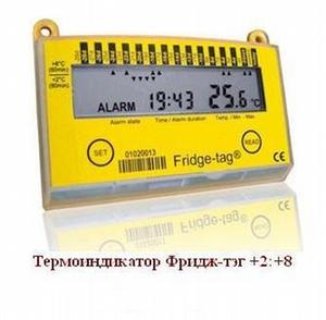 Электронный термоиндикатор Фридж-тэг (+2:+8 С)