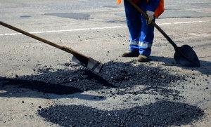 Ямочный ремонт дорог в Вологде