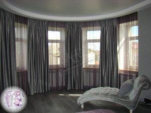 """Подбор штор в спальню вместе с дизайнером """"Декор окна"""""""