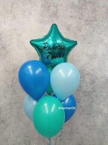 Фонтан из шаров на день рождения мальчику купить заказать в Череповце