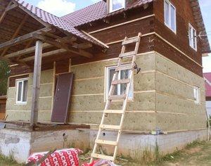 Утепление деревянных домов в Череповце