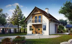 Заказать каркасный дом под ключ в Череповце