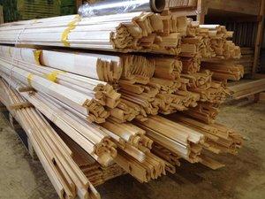 Купить деревянный плинтус от производителя
