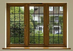 Купить деревянные окна со стеклопакетами от производителя
