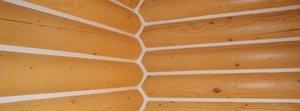 Тёплый шов для деревянного дома