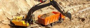 Доставка песка оптом с карьера