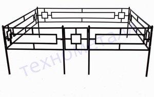Изготовление ограды для кладбища в Вологде